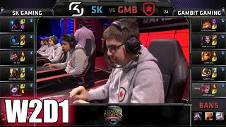 SK Gaming Vs Gambit Gaming | S5 EU LCS Spring 2015 Week 2 Day 1 | SK Vs GMB W2D1G4 VOD 60FPS