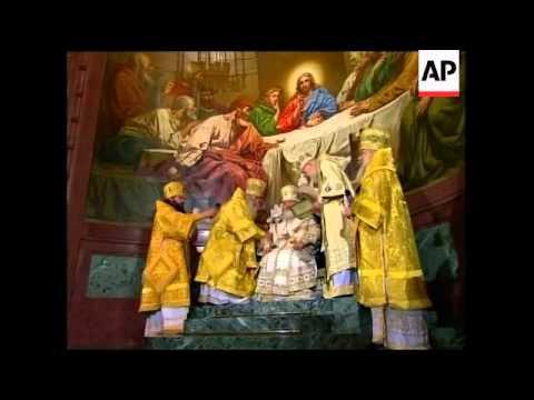 New Orthodox leader enthroned (видео)
