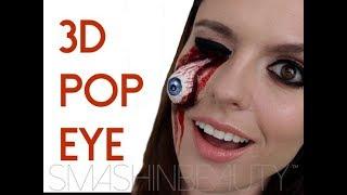 Video EASY 3D Pop Eye SFX Halloween Makeup Tutorial (ripped dislodged eye) | SMASHINBEAUTY MP3, 3GP, MP4, WEBM, AVI, FLV Januari 2018