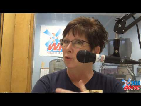 Tulip Time Executive Director Gwen Auwerda chats with WHTC/WYVN News Director Gary Stevens about the upcoming Tulip Time Festival in a May 3, 2013 conversation.