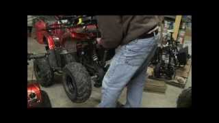 6. Changing Oil in 110cc and 125cc Models