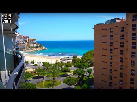 285000€/Квартира на 1 линии моря/Недвижимость в Испании/Купить квартиру в Бенидорме/Бухта Ла Кала