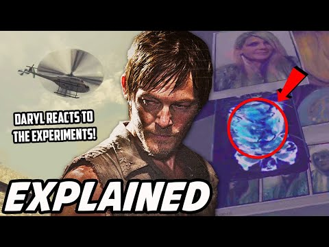 'Daryl's Experiment Encounter & Helicopter Confrontation' The Walking Dead Daryl Dixon Backstory
