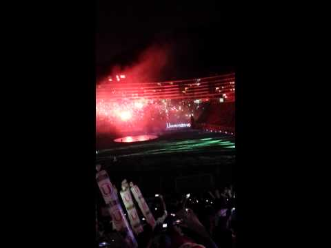 Video - Noche Crema 2015 impresionante TRINCHERA(U)NORTE - Trinchera Norte - Universitario de Deportes - Peru