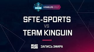 SFTe-sports vs Team Kinguin, ESL One Hamburg 2017, game 3 [Maelstorm, LightOfHeaven