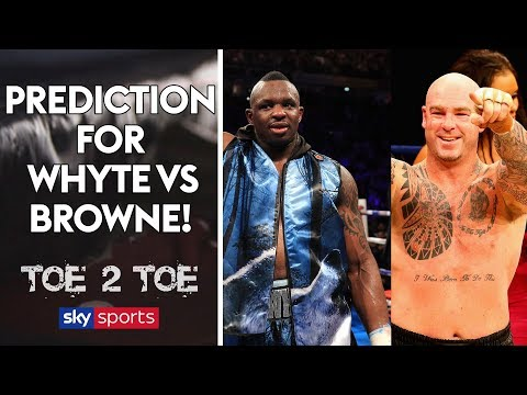 Dave Allen predicts Whyte/Browne, lifts lid on sparring Joe Joyce & reveals future plans   Toe 2 Toe (видео)
