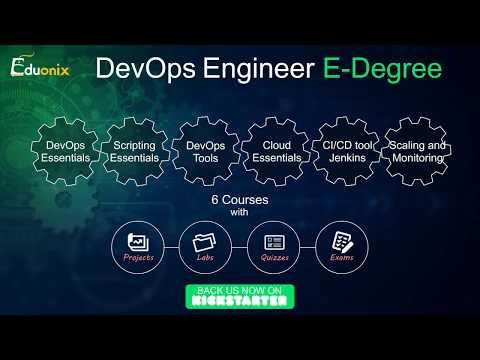 DevOps Engineer E-Degree | Support us on Kickstarter