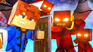 We let a DEMON into the ACADEMY !? || Minecraft Daycare Academy