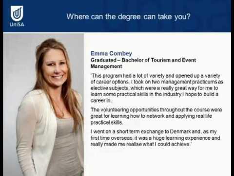 Tourismus und Event Management - Open Day 2011 - Universität von Süd Australien