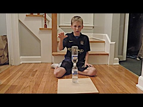 Water Bottle Flip Trick Shots 2 | That's Amazing (видео)