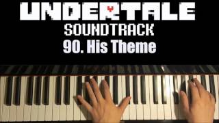 Undertale OST - 90. His Theme (Piano Cover by Amosdoll)