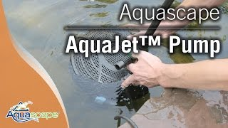 Aquascape's  AquaJet Pump Line