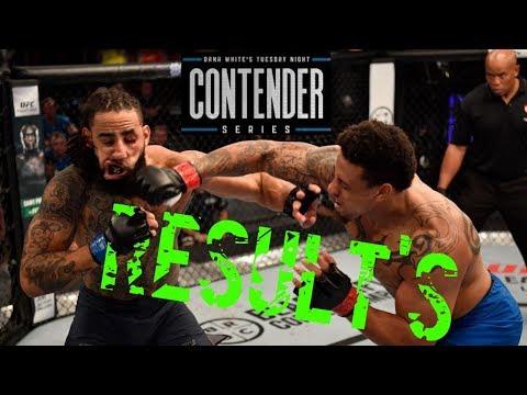 Dana White Contender Series Highlights Results 2018 (WEEK 1) - UFCTALKS