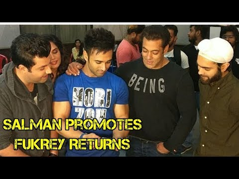 Salman Khan Meets FUKREY RETURS Team - EPIC Reacti