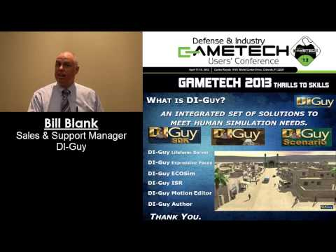 Ignite Presentations - Bill Blank -- DI-Guy