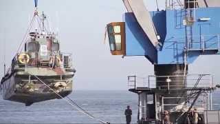 Berging van landingsvaartuig Afsluitdijk gelukt