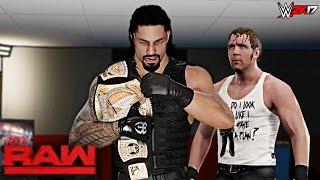 WWE 2K17 Custom Story - The Shield Brings WWE Championship Bac...
