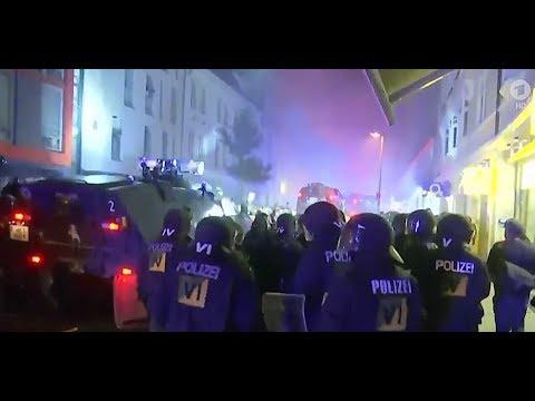 Nach G20-Krawallen: Polizei räumt Schanzenviertel