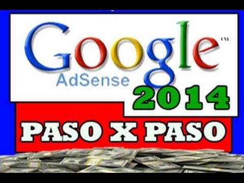 Crear una Cuenta en Google Adsense 2014 / Paso por Paso