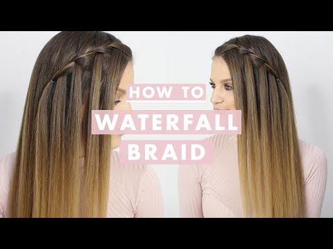 How To Waterfall Braid: Hair Tutorial For Beginners | Luxy Hair