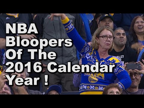 The Funniest NBA Bloopers Of 2016