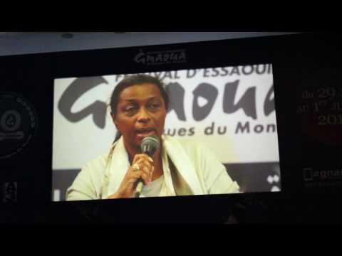 Conférence de presse du festival Gnaoua et des musiques du Monde Essaouira 2017