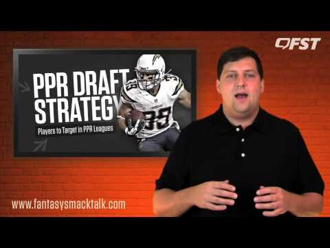2015 PPR League Draft Strategy thumbnail