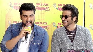 Arjun Kapoor Mimicry Of Anil kapoor In Front Of Him. MubarakanClick here http://goo.gl/Kua0nv to watch Latest Bollywood News.Kraft Bollywood provides bollywood actress fashion, bollywood photoshoots, bollywood red carpet, celebrity news, bollywood oops moments, movie premieres, movies on android/iphone/ipad/apps and more.