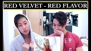 RED VELVET - RED FLAVOR MV REACTION 레드벨벳 빨간 맛 (NZ TWINS REACT)