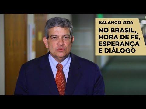 Pestana: hora de renovar fé e esperança no Brasil