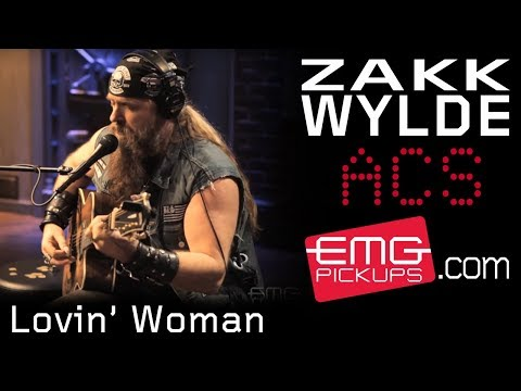 lovin - Zakk Wylde gives an amazing solo, acoustic performance of the Black Label Society song,