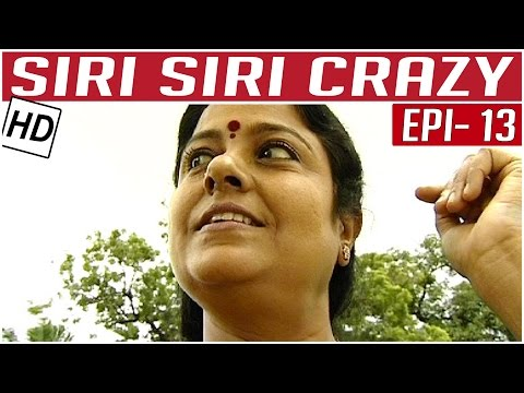 Siri-Siri-Crazy-Tamil-Comedy-Serial-Crazy-Mohan-Episode-13-Kalaignar-TV