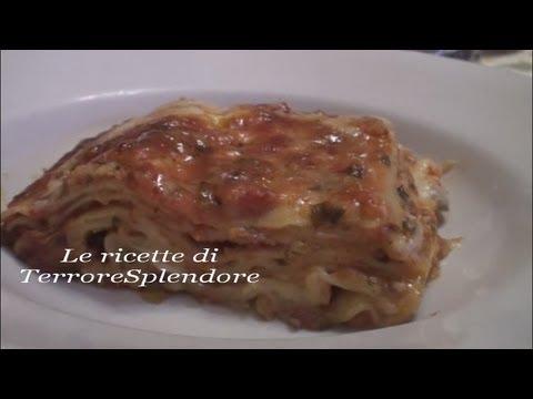 video ricetta: lasagne con sugo di verdure