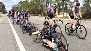 Bicyclists with Ride 2 Recovery rolled through Okatie and Beaufort on March 8, 2017. Ride 2 Recovery is part of Project Hero, which helps veterans and first responders affected by post-traumatic stress disorder, traumatic brain injury, and injury achieve rehabilitation, recovery and resilience in their daily lives