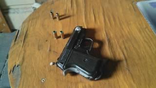Ekol Tuna 8mm Black cal.8 Real Gun - Test The Power of Projectiles ( 25 ACP Auto ) Magnum