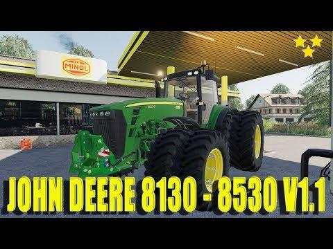 John Deere 8130 - 8530 v1.1