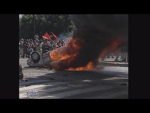Ιταλία: Αποζημίωση σε έξι διαδηλωτές για βασανιστήρια στη Γένοβα το 2001