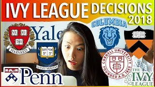 🔥IVY LEAGUE COLLEGE DECISION REACTIONS 2018: Harvard, Yale, Princeton, Columbia, etc. | Katie Tracy