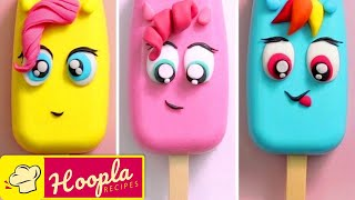 My Little Pony Cake Pops | FUN Cartoon Cakes by Hoopla Recipes
