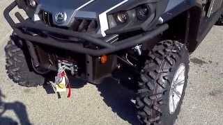 5. 2014 Can-Am Commander 1000 XT Max @ Alcoa Good Times
