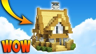 Small & Compact Medieval House! Minecraft Tutorial