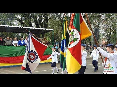 Desfile Colégio Tiradentes Semana Farroupilh...