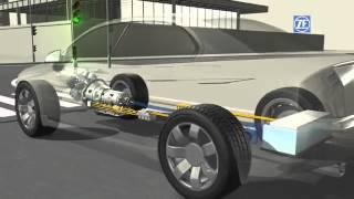 Cutia de viteze automată hibridă 8HP de la ZF