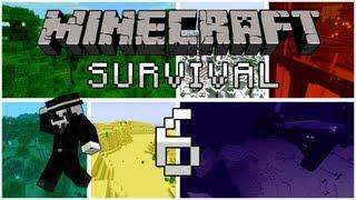 Minecraft Survival: Episode 6 (2) - Lạc,Tủ Sách Và Trang Trại!