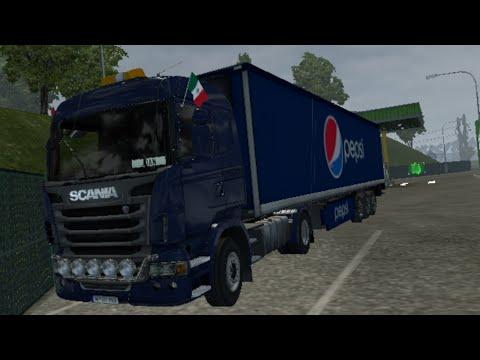 Standalone Pepsi Trailer