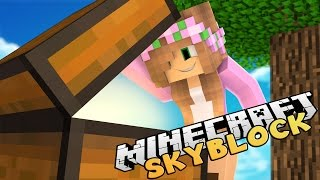 Minecraft - Little Kelly : SKYBLOCK NOOB!