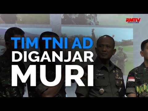 Tim TNI AD Diganjar MURI