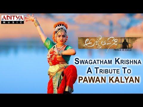 Video Swagatham Krishna | A Tribute To Pawan Kalyan | Agnyaathavaasi Songs | Anirudh Ravichander download in MP3, 3GP, MP4, WEBM, AVI, FLV January 2017