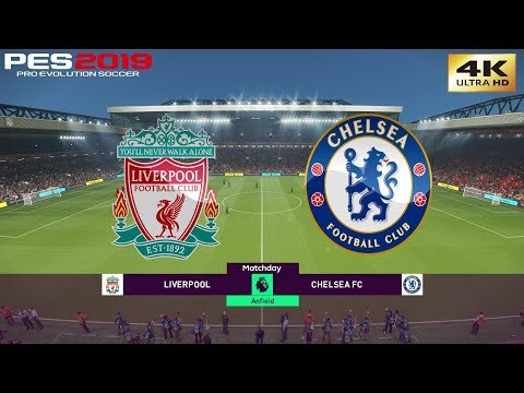 PES 2019 (PC) Liverpool Vs Chelsea | REALISTIC PREMIER LEAGUE PREDICTION | 14/4/2019 | 4K 60FPS