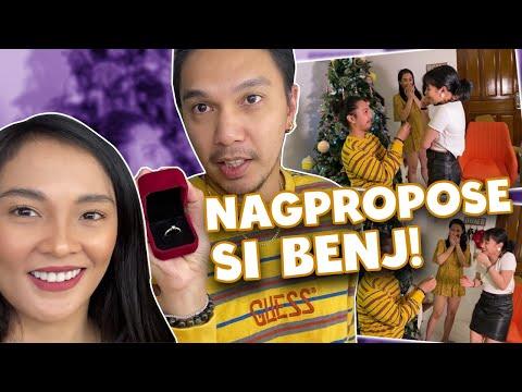 BAGO ANG KASAL, PROPOSAL MUNA KAY CRISHA MGA PANGGA! | BenLy